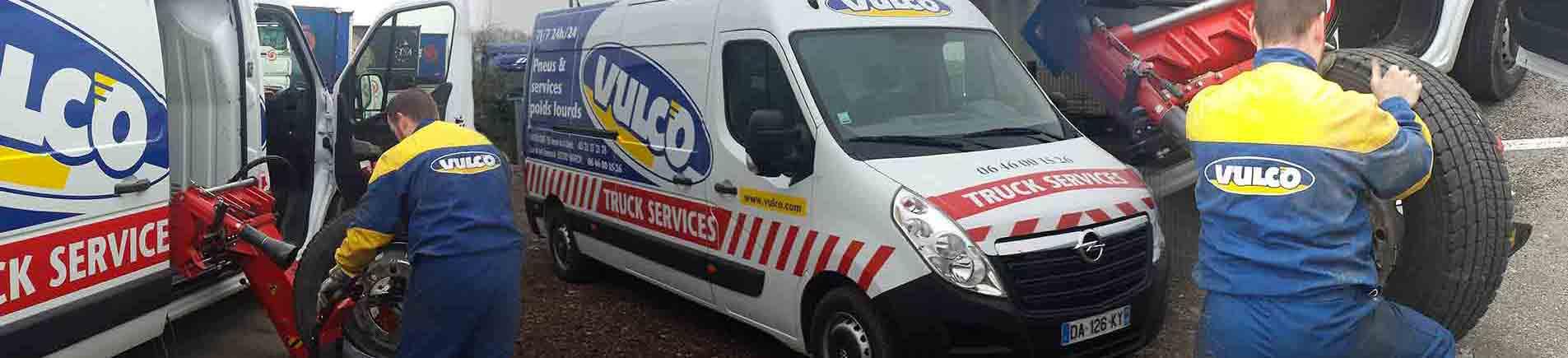 bg service pneumatique Vulco