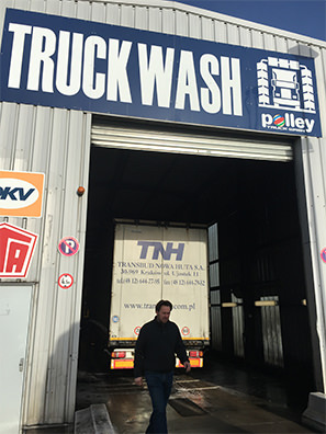 Truck wash Polley
