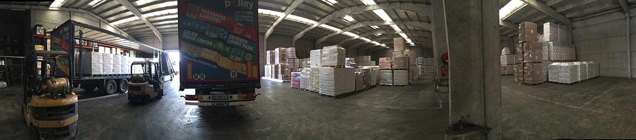 Galerie logistique